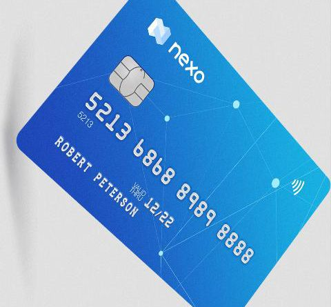 nexo crypto card