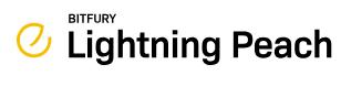 Lightning Peach logo - by Bitfury